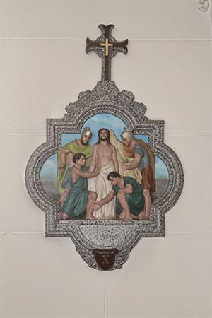第10留-イエス、衣服をはがされる