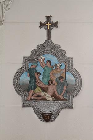 第11留-イエス、十字架につけられる