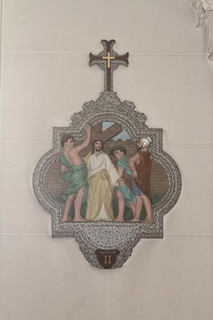 第2留-イエス、十字架を担わされる
