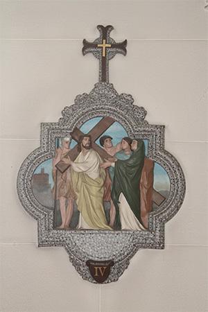 第4留-イエス、悲しみの聖母に出会う