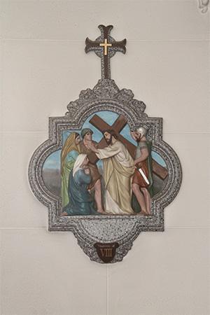 第8留-イエス、嘆き悲しむ女性たちを慰める