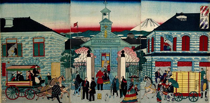 初代聖堂(横浜商館天主堂)